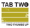 TAB TWO : two thumbs up / 36music